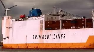 GRANDE AMERICA Ro/Ro Cargo Ship, Thames Shipping by R.A.S