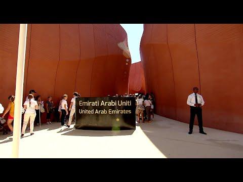 Visit to the United Arab Emirates Pavilion