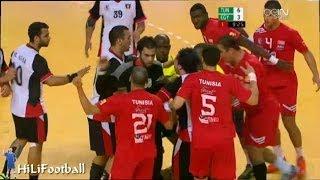 كرة اليد l مصر و تونس l بطولة افريقيا للرجال Handball l Egypt vs Tunisia