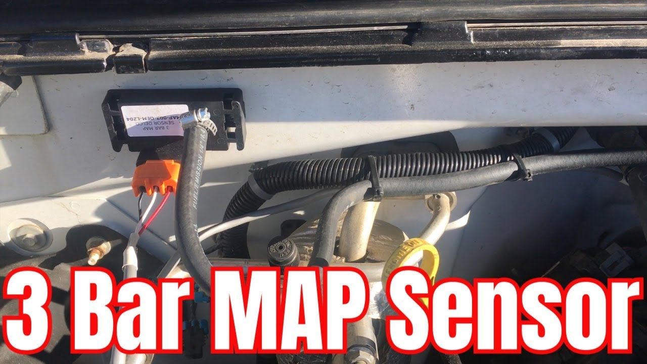 small resolution of lowbuck ls turbo truck project 3 bar map sensor install