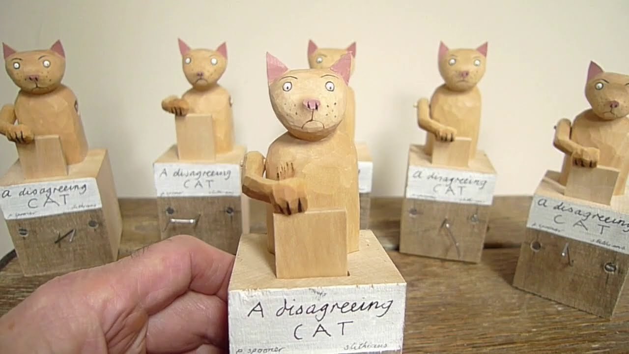 A Disagreeing Cat by Paul Spooner