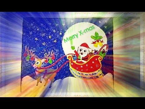 Christmas Special Rangoli Design || Santa Claus Christmas Rangoli by COLOURFUL IDEAS