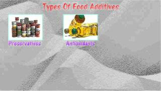 [5.2] Types of food additives