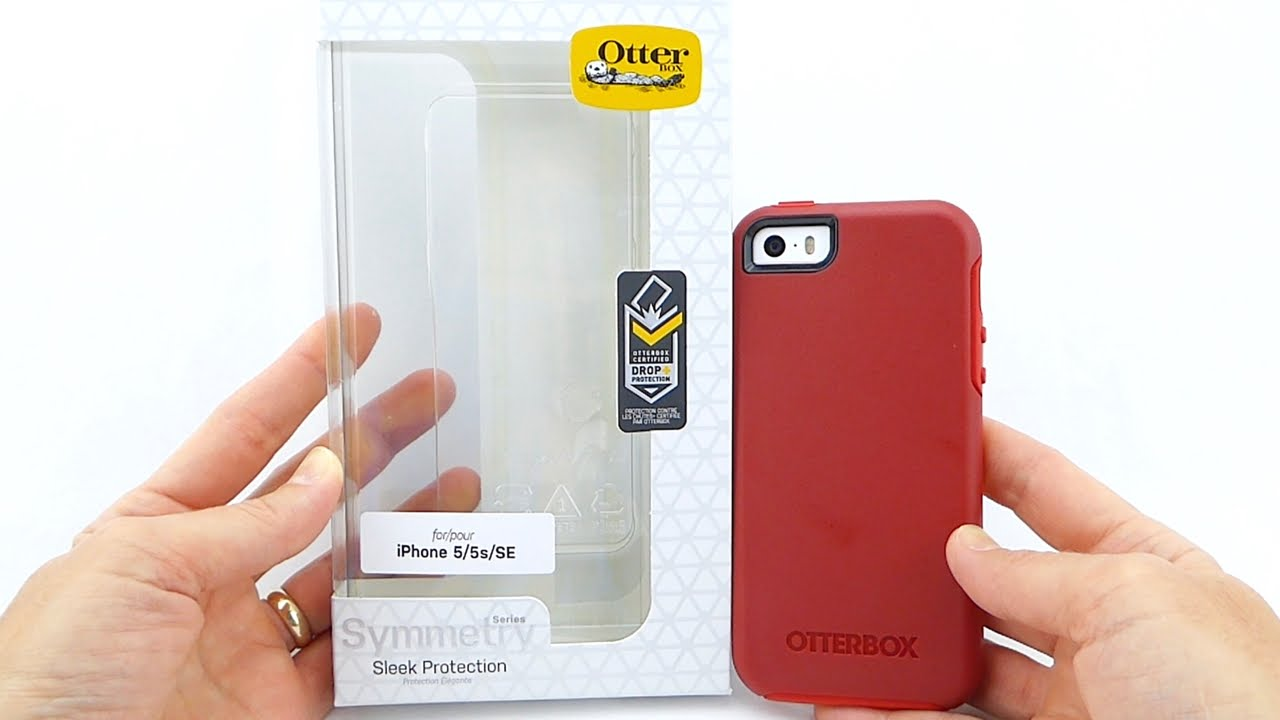 OtterBox  NEW  Symmetry for iPhone SE  An Excellent Protective Choice! -  YouTube 7b98e81f2bf8