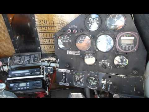 PZL Dromader Firefighting Aircraft Cockpit