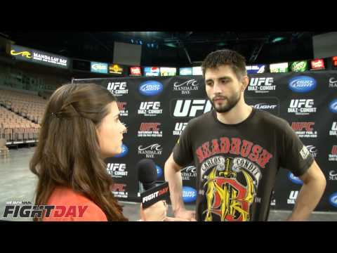 Carlos Condit UFC 143 Pre fight interview