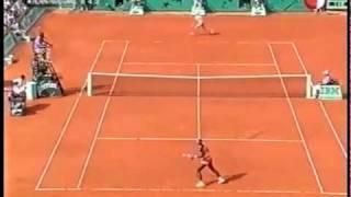 [HL] Justine Henin vs. Serena Williams 2003 Roland Garros [SF] [2/2]
