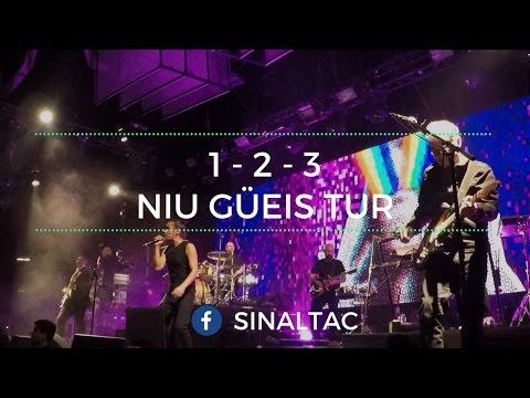 1 - 2 - 3 - El Plaza - Café Tacvba Niu Güeis Tur