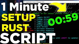 How To Install Rust Scripts In Less Than 1 Minute (No Injecting)