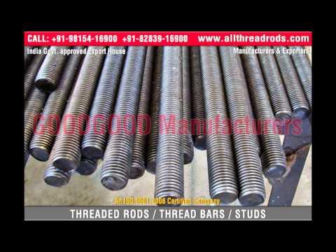Acme Metric Threaded Rods www allthreadrods com - YouTube