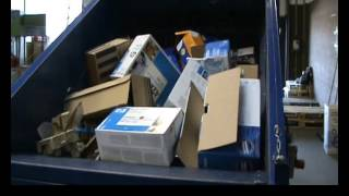 BaleTainer compacting whole large boxes Thumbnail