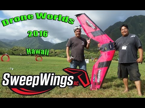 Sweepwings at Drone World's - Hawaii 2016