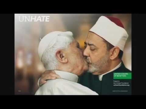 Unhate leaders kissing campaign United Colors of Benetton - YouTube 59284b870fe