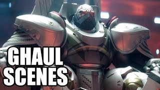 DESTINY 2 - All Ghaul Scenes