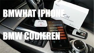 BMWhat iPhone - BMW Codieren und Fehlerspeicher auslesen mit BMWhat