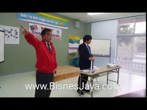 Mr Oshiro Founder Kangen Water with BisnesJaya Champion Malaysia @okinawa Japan