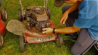 Trashed Lawn Mower Revival