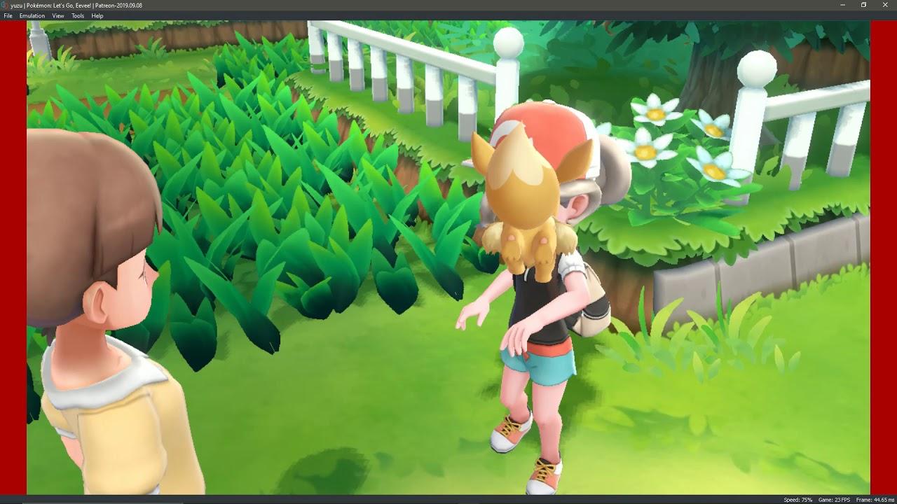 yuzu Patreon 9/8/19 4kIR |Pokémon: Let's Go, Eevee! GamePlay