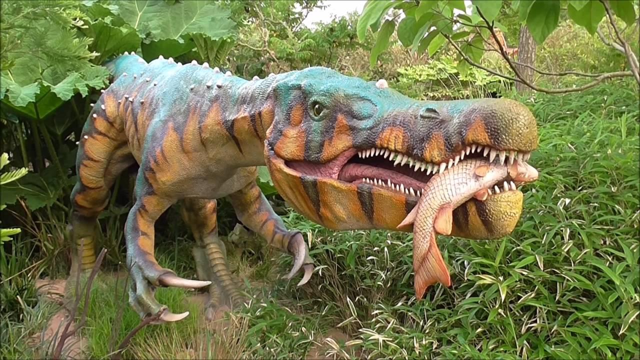 Animatronic Dinosaur Tour