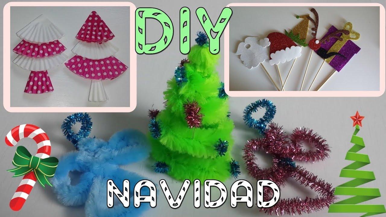 6 diy adornos navidad ideas f ciles manualidades for Decoracion navidena diy