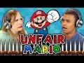 Unfair Mario React: Gaming