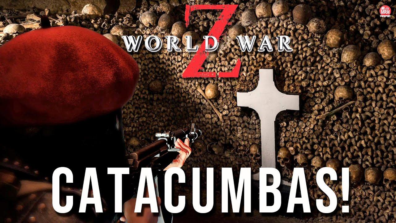 WORLD WAR Z – AS CATACUMBAS COM A MAIOR HORDA DE ZUMBIS JÁ VISTA!