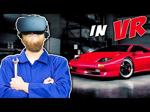 Be A Car Mechanic In VIRTUAL REALITY! | Job Simulator | Oculus Rift + Touch Controllers
