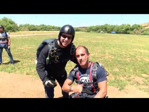 5/22/17 Former Navy SEALs Carlos Moleda and Jim Woods Reunite in the Sky