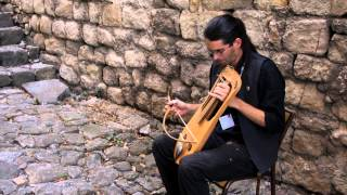 Benjamin plays the Crwth ! Enjoy this lovely ancient instrument! Medieval