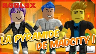 THE TRESOR OF THE PYRAMID OF MADCITY! Roblox with Mary