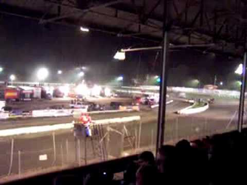 Sprint Car Feature at Orange County Fair Speedway, NY PART 1