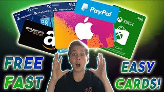 How to get FREE Apps & Gift Cards - Amazon, XBOX, iTunes, AppStore