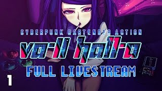THIS GAME IS AMAZING! - Live Plays - VA-11 Hall-A: Cyberpunk Bartender Action - 1