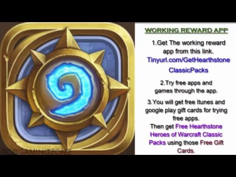 Hearthstone Heroes of Warcraft - Tips - Strategies - Get Classic Packs Faster - IOS ANDROID !