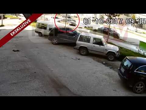 Report TV - Video ekskluzive e atentatit  të bujshëm në Vlorë në 1 Tetor ndaj Ferdinand Llanaj