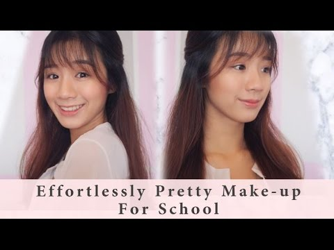 Effortlessly Pretty Make-up For School 2016 | By Patrine Choo