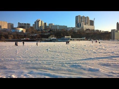 Новый год на Спортивной набережной . Владивосток
