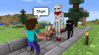 Monster School : SCP 096 COME BACK - Minecraft Animation