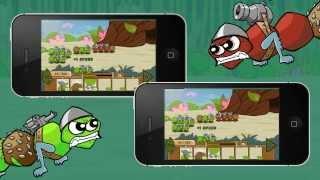 Боегусени — война за листья и яблоки. Игра для iPhone, iPad и Android