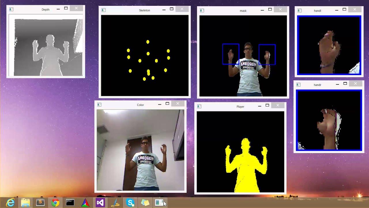 Kinect y OpenCV(Segmentation)