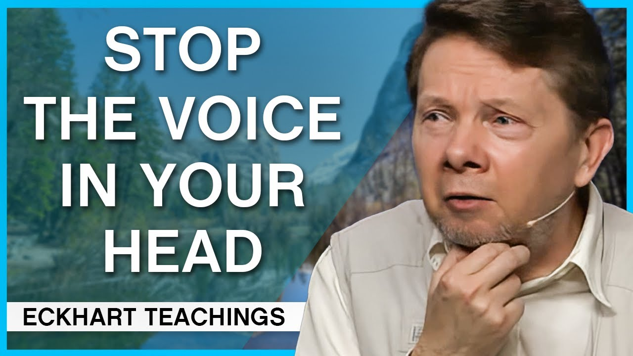Download How to Calm the Voice Inside   Eckhart Tolle Teachings