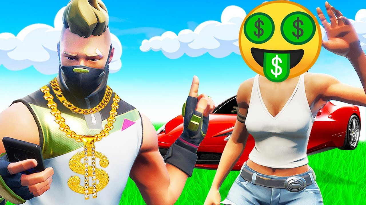 In Fortnite einen ECHTEN Goldgräber fangen + video