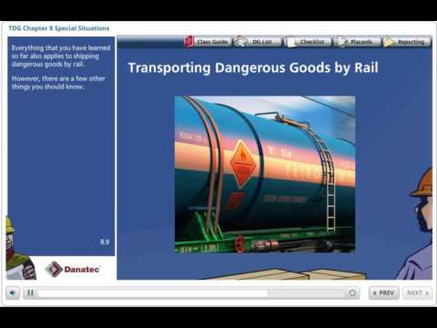 TDG Rail Online Training