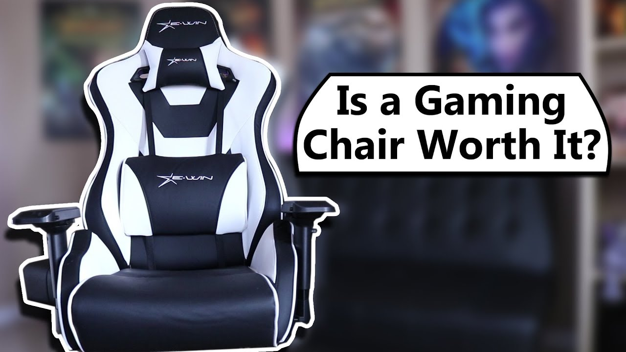 gaming chair vs ergonomic task chair worth it ewin racing chair review youtube. Black Bedroom Furniture Sets. Home Design Ideas