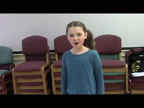 Emery Allen 10 years old Annie Auditions