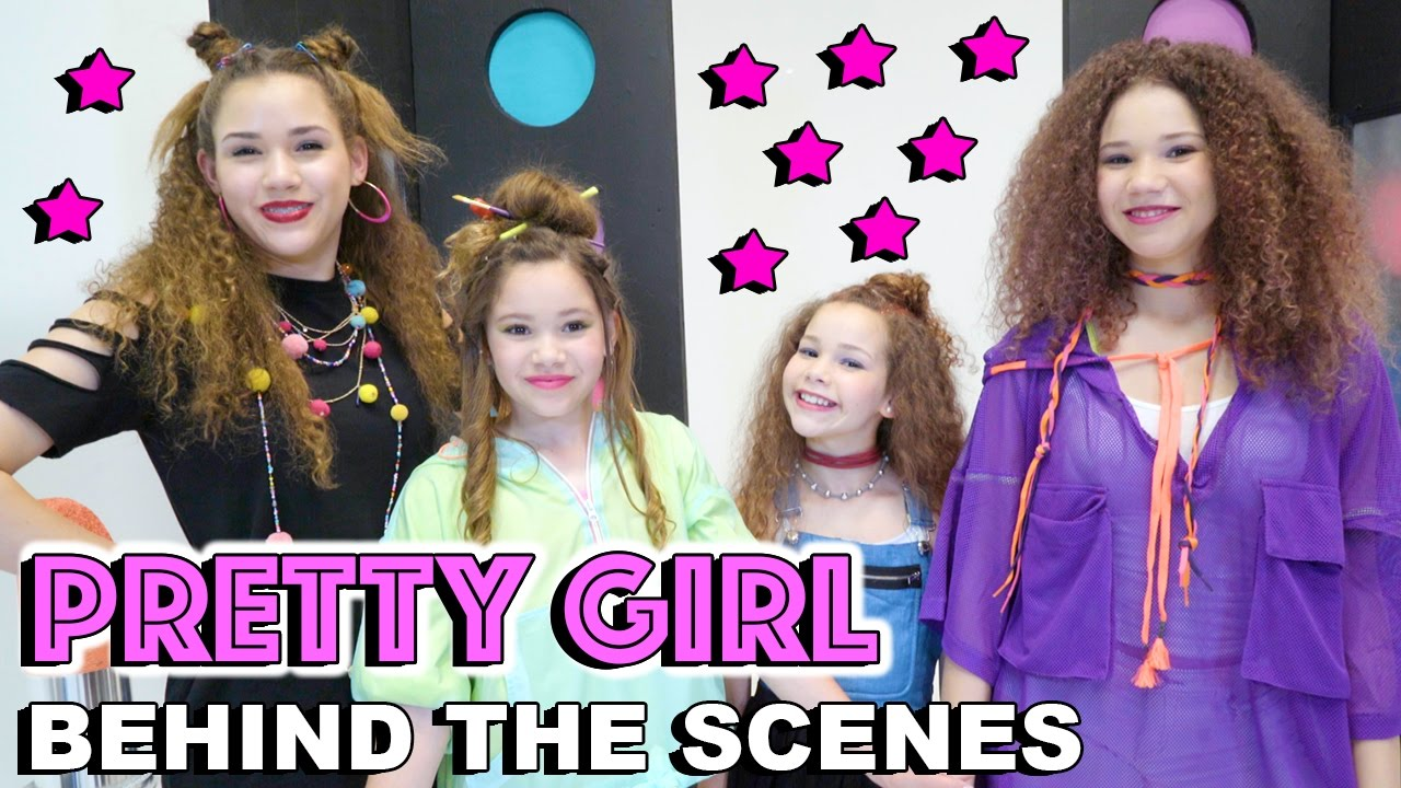 haschak sisters - pretty girl  behind the scenes