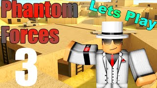 [ROBLOX: Phantom Forces] - Lets Play w/ Friends Ep 3 - ESCALATOR MADNESS