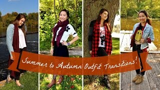 Summer to Autumn: Outfit Transitions|| Grace&TJ Thumbnail