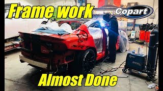 Rebuilding my wrecked charger hellcat part 6