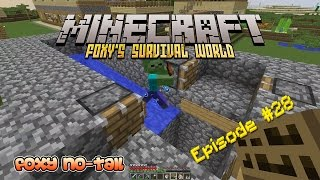 Minecraft Survival - How to build a Mob Spawner [28]